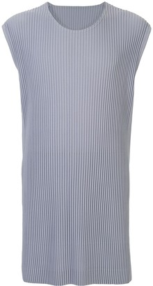 Homme Plissé Issey Miyake Longline Pleated Tank Top
