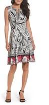 Maggy London Women's Scuba Fit & Flare Dress