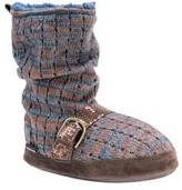 Muk Luks Women's Lia Bootie Slipper