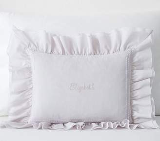 Pottery Barn Kids Decorative Pillow Insert, 12x16in, White