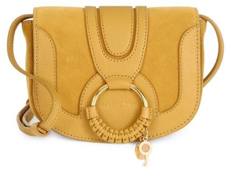 See by Chloe Hana Leather & Suede Saddle Bag