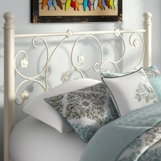 August Grove Oldbury Metal Open-Frame Headboard
