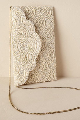 Paxton Clutch By St. Xavier in White Size ALL