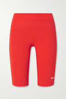 Thumbnail for your product : Nike Sportswear Essentials Stretch Cotton-blend Jersey Shorts