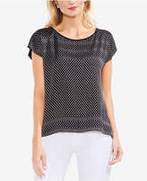 Vince Camuto Printed Pullover Top