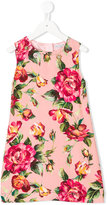 Dolce & Gabbana floral print shift dress - kids - Viscose - 6 yrs