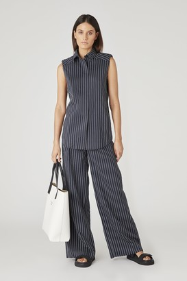 Camilla And Marc Pollino Stripe Slv.ls Shirt
