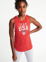 Old Navy Team USA® Tulip-Hem Muscle Tank for Women