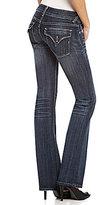 Vigoss New York Flap-Pocket Bootcut Jeans