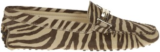 Tod's Tods Zebra-like Print Loafers
