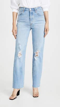 Levi's Ribcage Straight Full Length Jeans