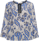 Vanessa Bruno Diaz Ivy-print silk-crepe blouse