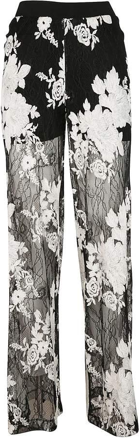 D-Exterior D. Exterior Floral Trousers