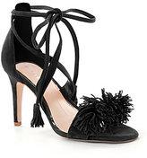 Gianni Bini Hadley Fringe Two Piece Dress Sandals