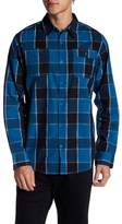 Burnside Plaid Button Down Shirt
