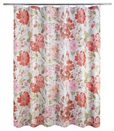 Nobrand No Brand Paint Pallet Shower Curtain - Coral (Print) - Allure