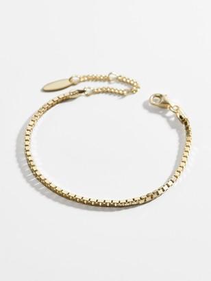 BaubleBar Alexa 14K Gold Vermeil Box Chain Bracelet