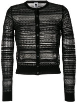 M Missoni sheer cropped cardigan - women - Cotton/Polyamide/Polyester/Viscose - 38