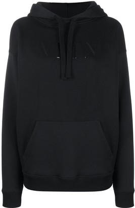 Valentino VLTN print hoodie