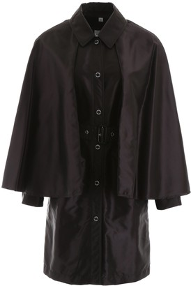 Burberry Belted Cape