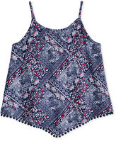 Epic Threads Mix and Match Bandana Tank Top, Toddler & Little Girls (2T-6X), Created for Macy's