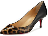Christian Louboutin Pigalle Follies Degrade Red Sole Pump, Leopard