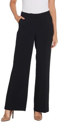 GRAVER Susan Graver Regular City Stretch Zip-Front Pants