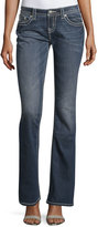 Miss Me Mid-Rise Boot-Cut Denim Jeans, Medium Wash 194