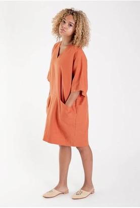 Beaumont Organic Bia Dress - XS / Madder - Orange