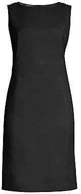 Lafayette 148 New York Women's Brett Stretch Virgin-Wool Sheath Dress
