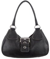 Prada Grained Leather Hobo