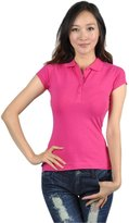 Soho Girls Emma's Mode Junior Solid Short Sleeve Polo T-Shirt CST-116-S
