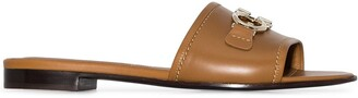 Salvatore Ferragamo Rhodes leather mules