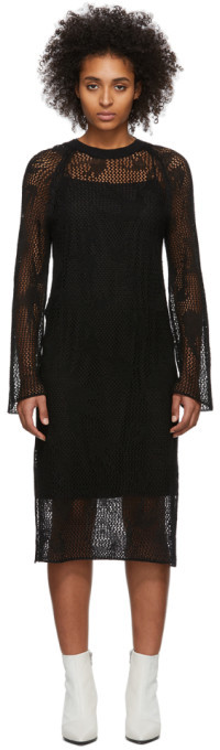 McQ Black Unoko Dress