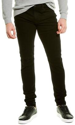 Hudson Ethan Black Biker Skinny Leg Jean