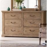 Rachael Ray Monteverdi 6 Drawer Double Dresser Home