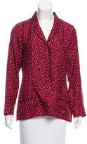 Piamita Silk Long Sleeve Top