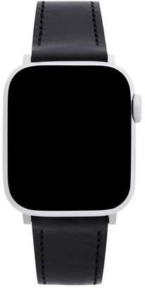 Rebecca Minkoff Apple Watch Strap Black Leather