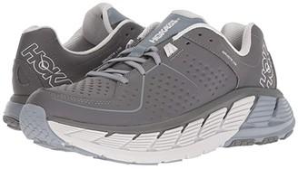 Hoka One One Gaviota Leather (Charcoal/Tradewinds) Men's Running Shoes