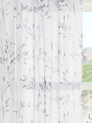 John Lewis & Partners Nerine Slot Top Sheer Panel