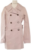 Louis Vuitton Pink Cotton Trench coats