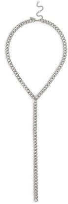 Freedom Womens **Silver Chunky Chain Necklace - Silver