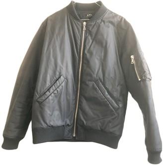 A.P.C. Black Cotton Jackets