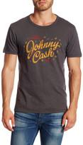 Lucky Brand Short Sleeve Johnny Cash Show Tee