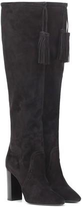 Saint Laurent Meurice 105 suede boots