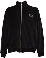 Gcds GCDS Black Cotton Blend Sweatshirt