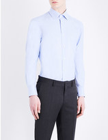 Ermenegildo Zegna Tailored-fit cotton shirt