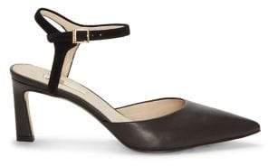 Louise et Cie Kaiyla Ankle-Strap Leather Pumps