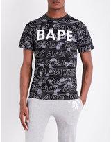 A Bathing Ape Camo-print Cotton-jersey T-shirt