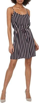 Vero Moda Simply Easy Tie Waist Minidress